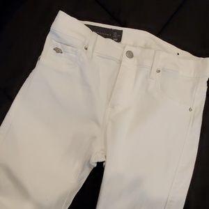 Armani Exchange White Jeans